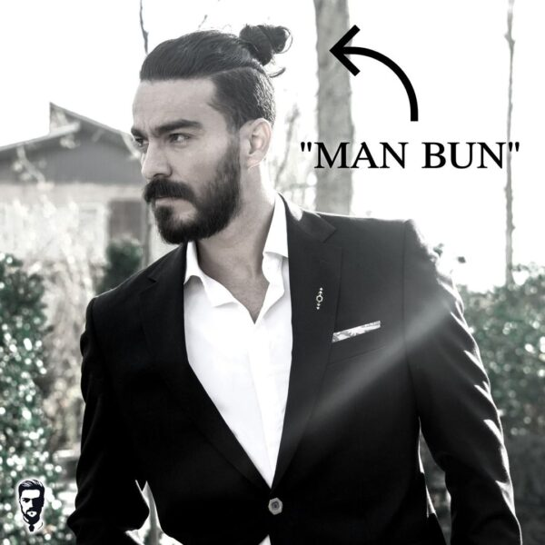 Disconnected Men Bun