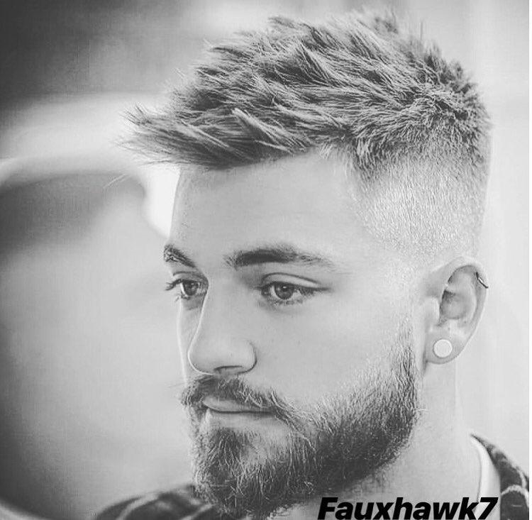 Shor Faux Hawk + Low Fade