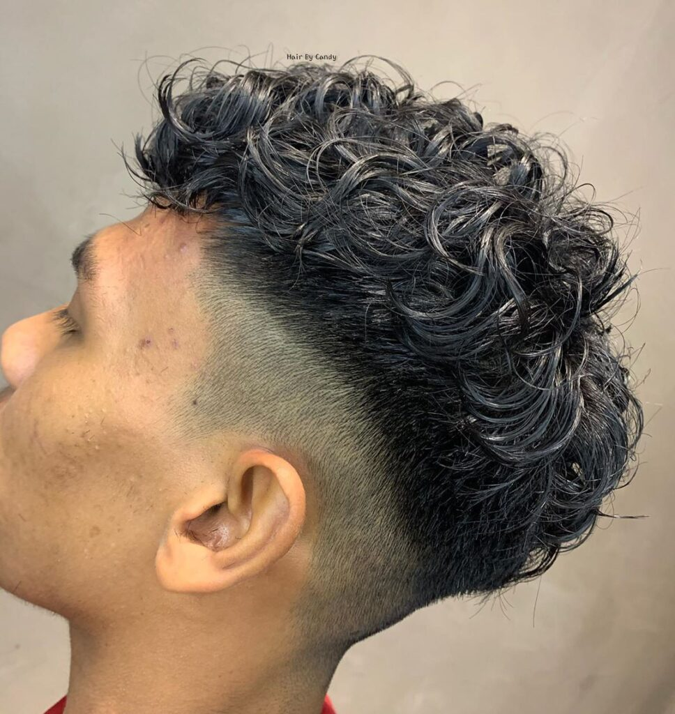 Taper Fade Curly Hair