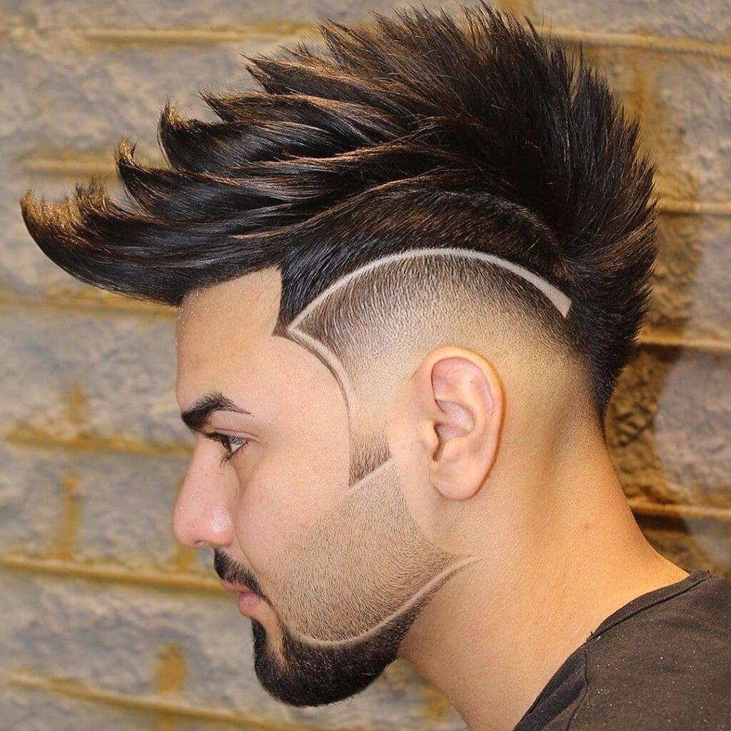 Spicky Hair + Line Up