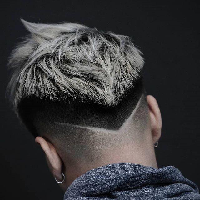 """""""V"""" Shape + Colorful Hair"""