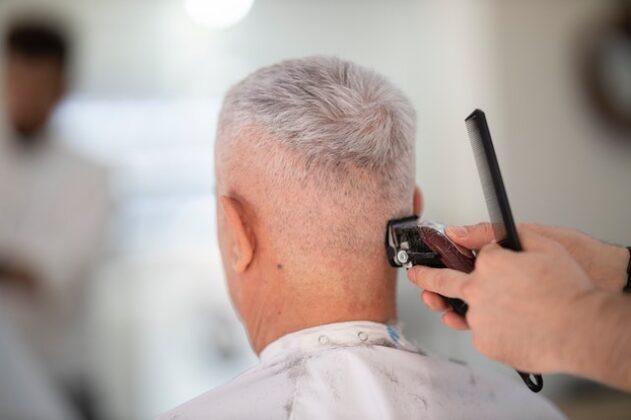 Determine the length of the hair