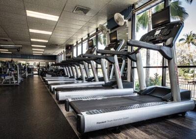 The Club Kona treadmills