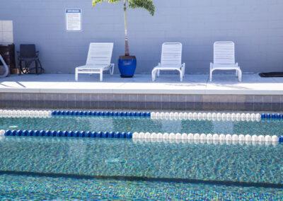 The Club Kona pool