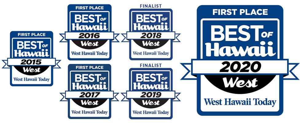 Best of West Hawaii 2020 — Best Fitness Center