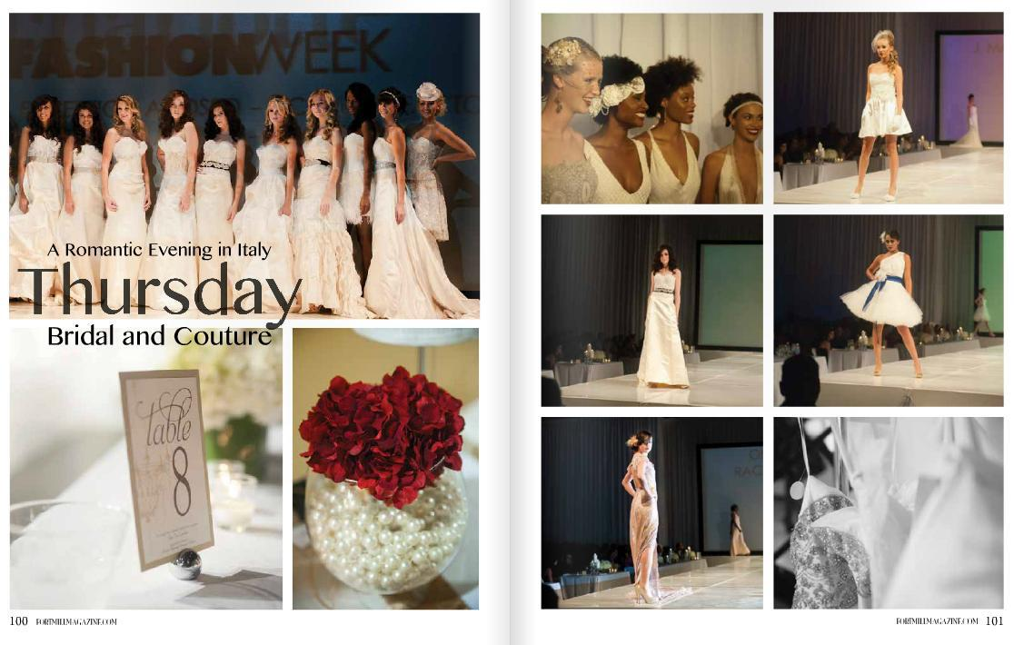 Charlotte Fashion Week Bridal and Couture