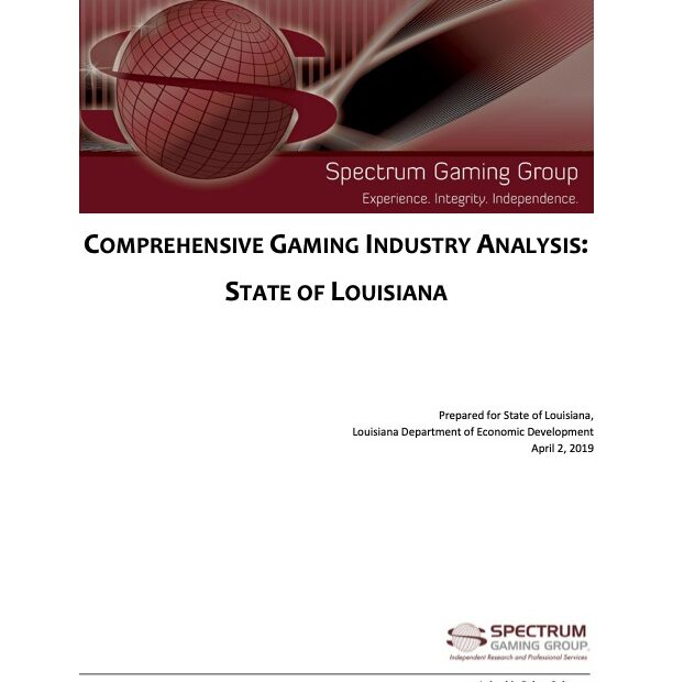 Comprehensive Gaming Industry Analysis: State of Louisiana