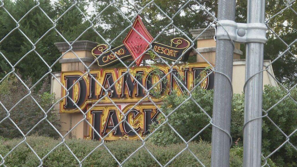 P2E's failed Diamond Jacks Casino in Bossier City, LA.