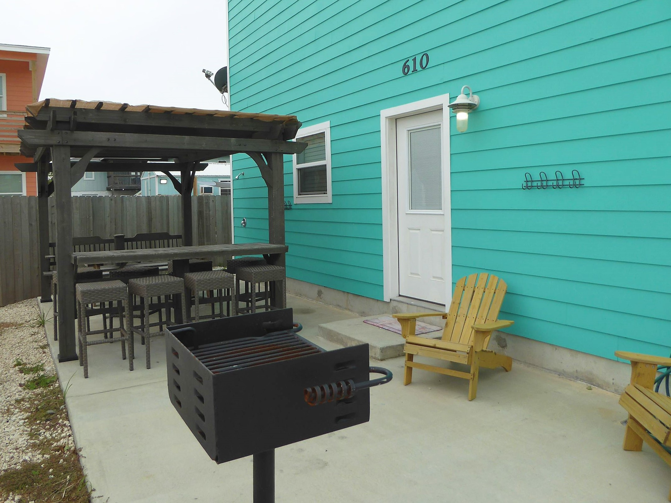 Patio dining and grill