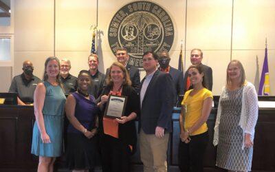 Sumter's eSTEAM Festival wins Excellence on Main Street Award