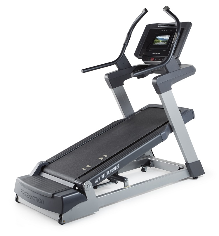 Treadmill incline trainer from Free motion. Interactive technology. Modern treadmill. The iFIT-powered i22.9 Incline Trainer provides your members with the ability to build muscle and burn calories faster, through a motivating, interactive, and engaging workout experience.