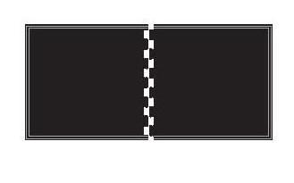 4' x 8' Shok-Lok Beveled Rubber 2-Piece Mat