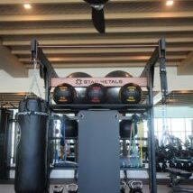 FSR 2. Custom Group Fitness Rig and Storage
