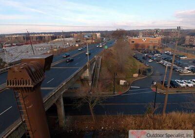 CSX Englewood, NJ Billboard project Rt 4 Lamar Advertising image