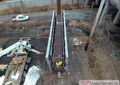 Arial view double-side 14x48 Englewood New Jersey Project image