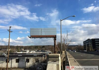 image static Windframe face 14x48 Rt, 4 Englewood, NJ new install by Outdoor Specialist, Inc.