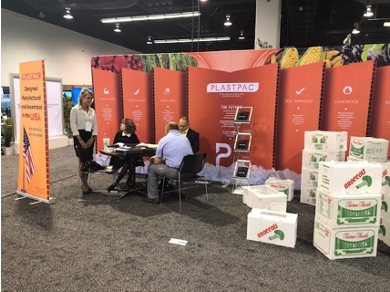 Plastpac showing corrugated produce boxes