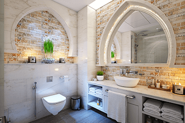 Bathrooms - Home Cleaning Services | Residential Cleaning | Janitorial Services