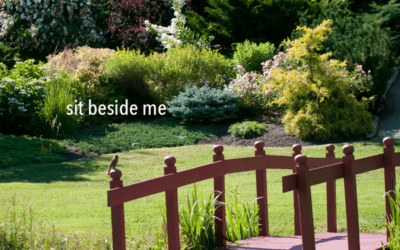 Sit beside me, thoughts on meditation and mindfulness