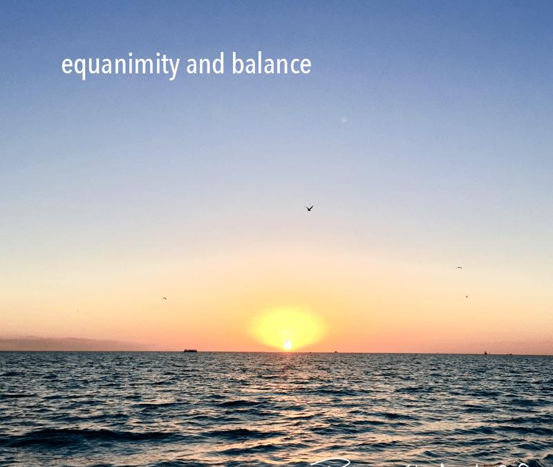 equanimity and balance