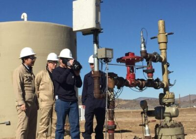 Natural Gas Monitoring Network to Detect Natural Gas Leaks