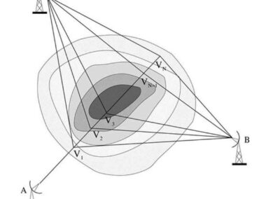 Retrieval of Reflectivity in a Networked Radar Environment