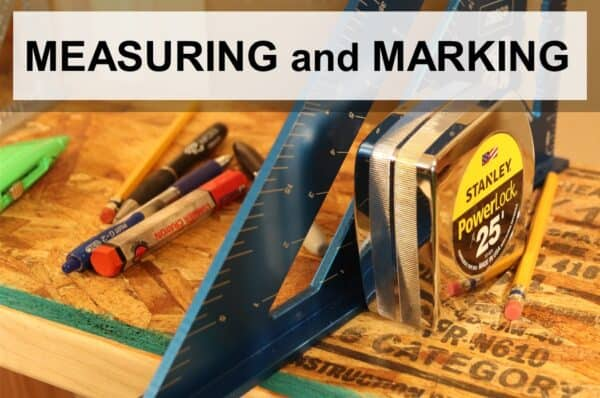 top measuring and marking