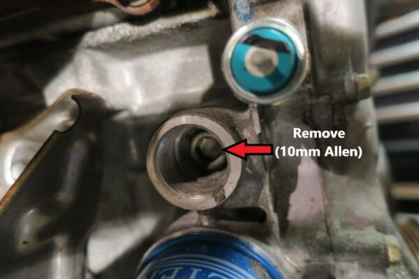 Oil Cooler return Plug