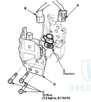 VTEC Selenoid install