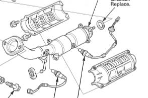 catalytic converter shield removal