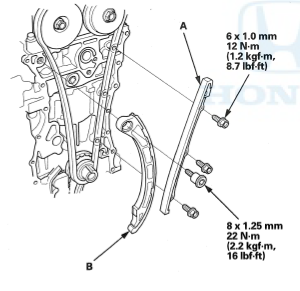 chain guide install