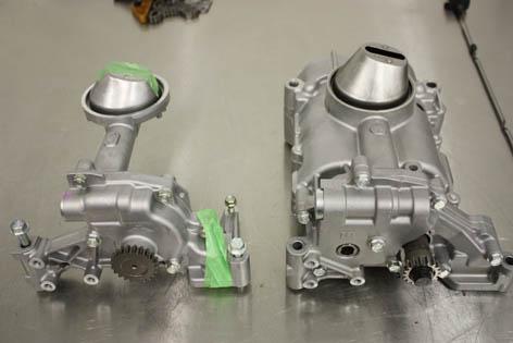 k20z3 vs k20a2 oil pump