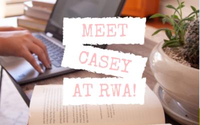 Meet Casey at RWA!