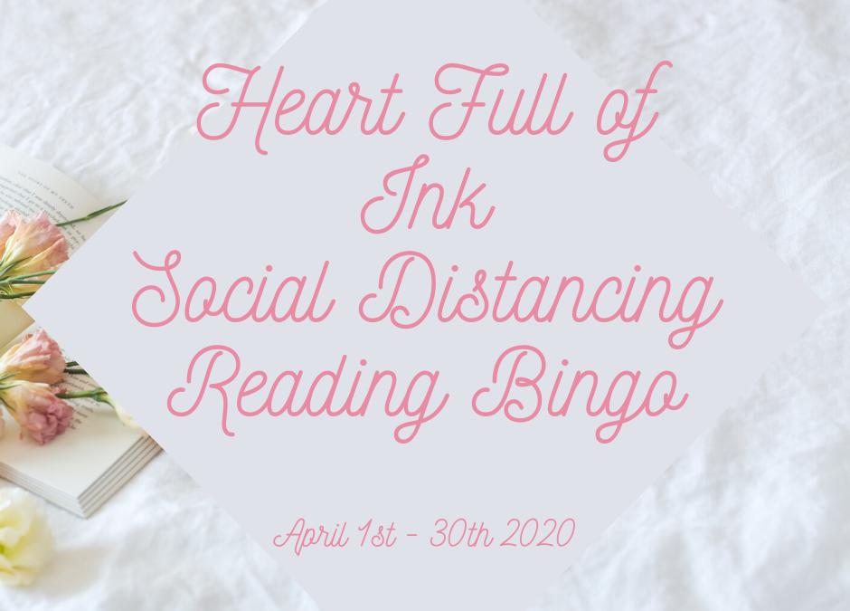 Heart Full of Ink Social Distancing Reading Bingo