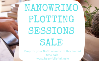 NaNoWriMo2020: Book Your Plotting Session Today!