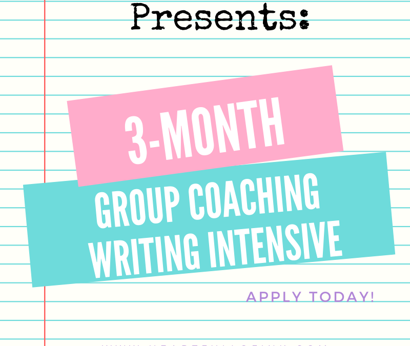 Apply Today for a 3-Month Group Coaching with Casey!