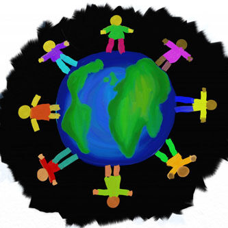globe, world of people, all cultures