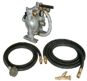 air hoses, pump, air chuck | Counterweight Blue