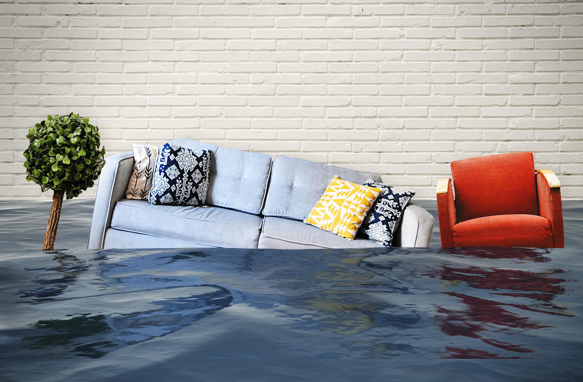 Water damage vie flooding