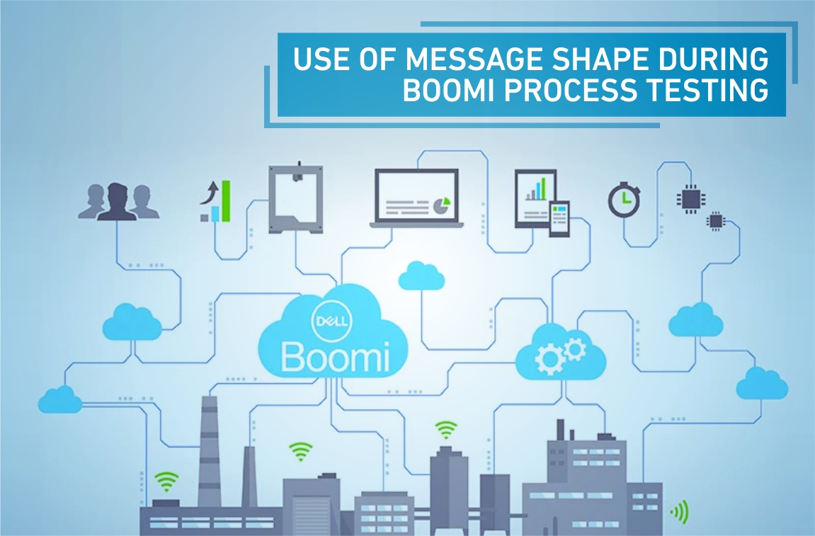 USE OF MESSAGE SHAPE DURING BOOMI PROCESS TESTING