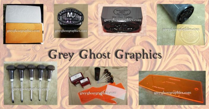 Grey Ghost Graphics- Custom Stamps for Leather