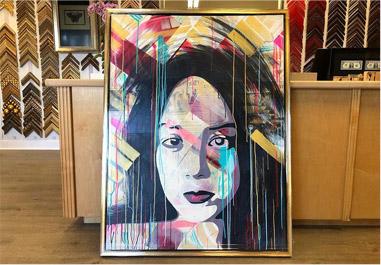 Fine art portrait in Newport Beach