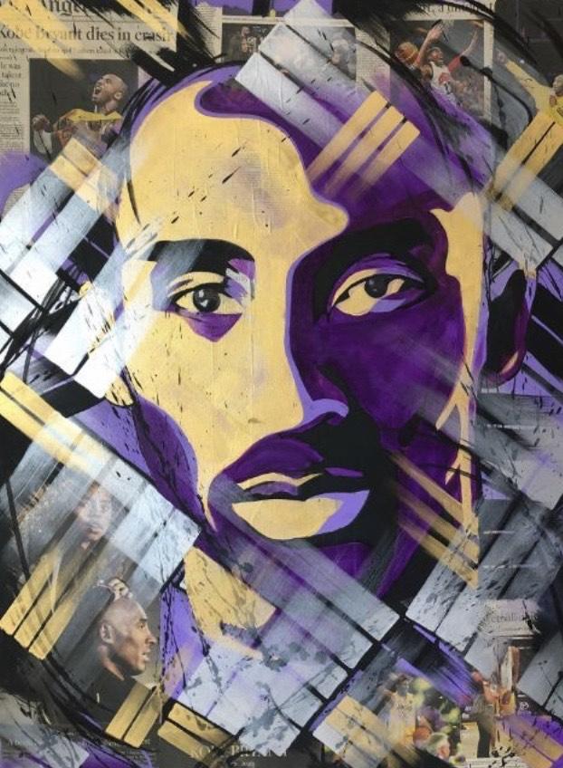 Kobe Bryant Art by Zak Perez