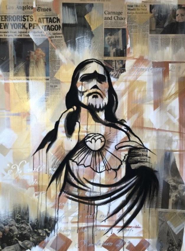 Fine art of Jesus