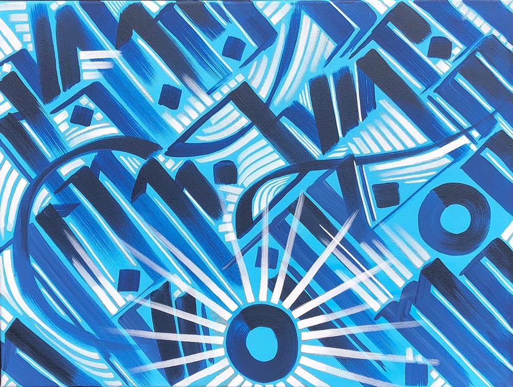 Abstract art by Zak Perez