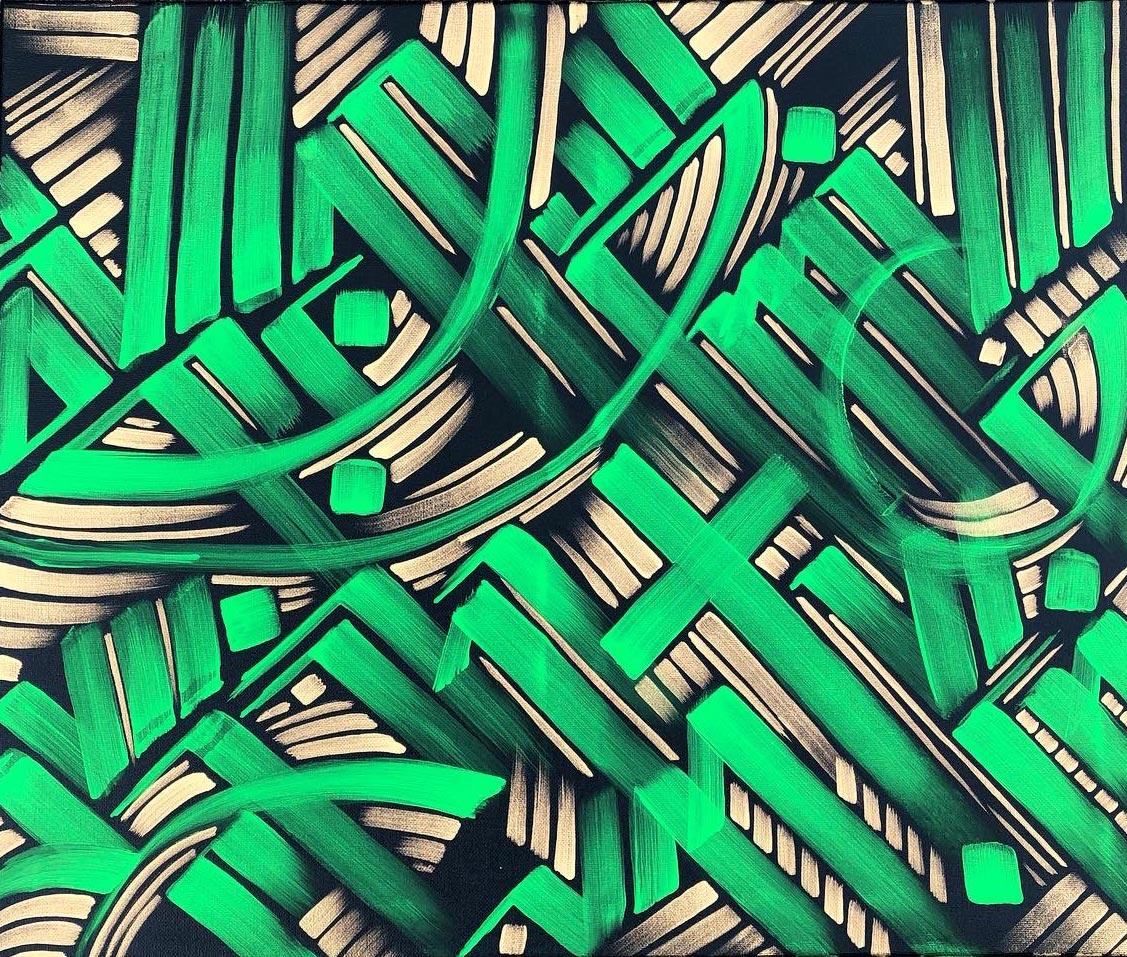 Calligraphy fine art