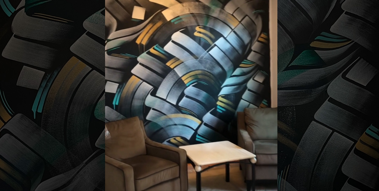 Mural for Art Collector in Orange County