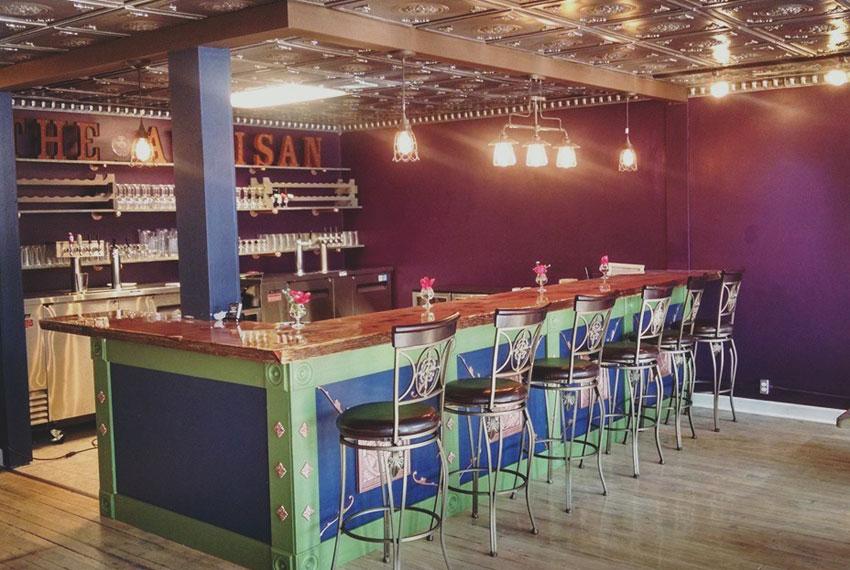 the artisan tap house in new era michigan