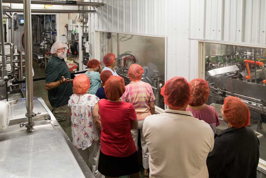 country dairy group tours in new era michigan