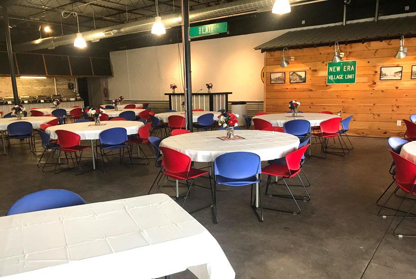 the avenue event center in new era michigan